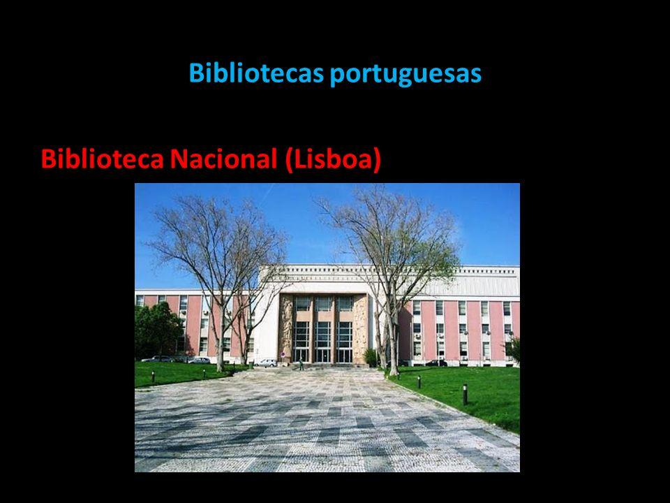Bibliotecas portuguesas Biblioteca Nacional (Lisboa)
