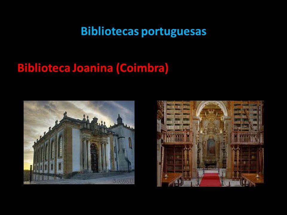 Bibliotecas portuguesas Biblioteca Joanina (Coimbra)