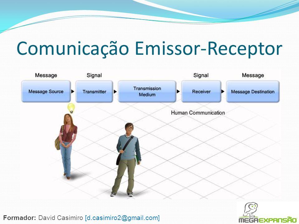 Comunicação Emissor-Receptor Formador: David Casimiro [d.casimiro2@gmail.com]