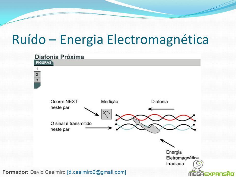 Ruído – Energia Electromagnética Formador: David Casimiro [d.casimiro2@gmail.com]