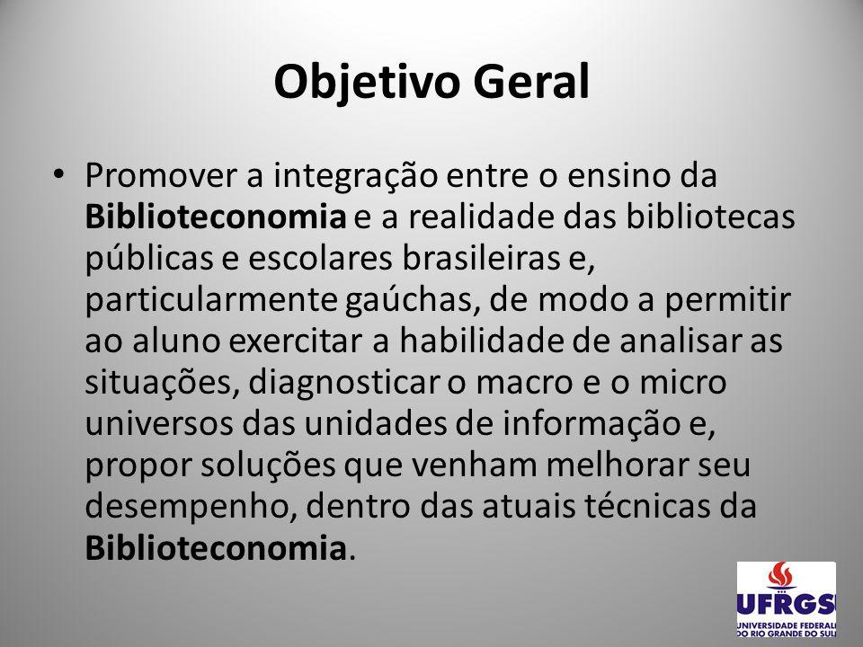 Ensino: disciplinas Leitura, Biblioteconomia e Inclusão Social: a promoção da leitura, como parte do fazer biblioteconômico no processo de inclusão social do indivíduo.