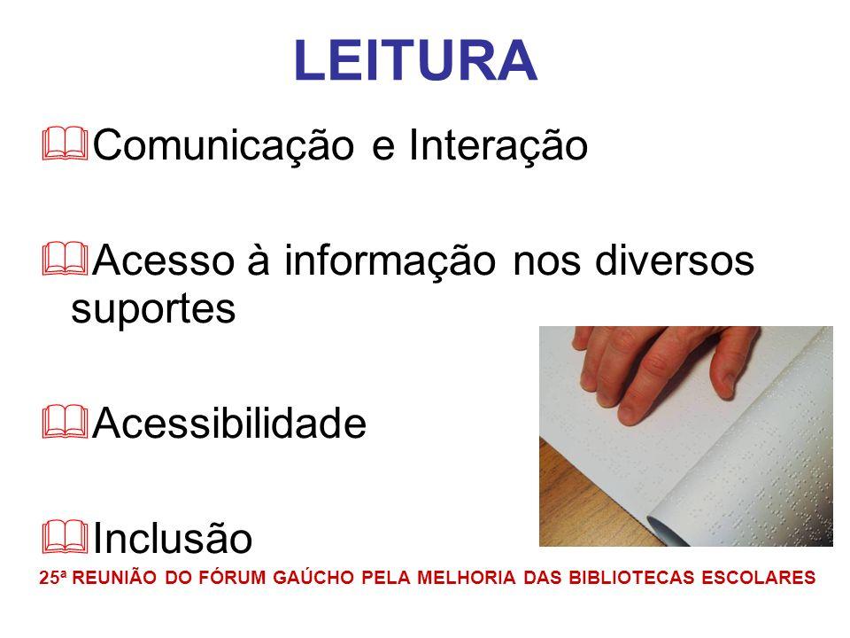 http://www.ufrgs.br/mediadoresdeleitura/ CURSO MEDIADORES DE LEITURA NA BIBLIODIVERSIDADE