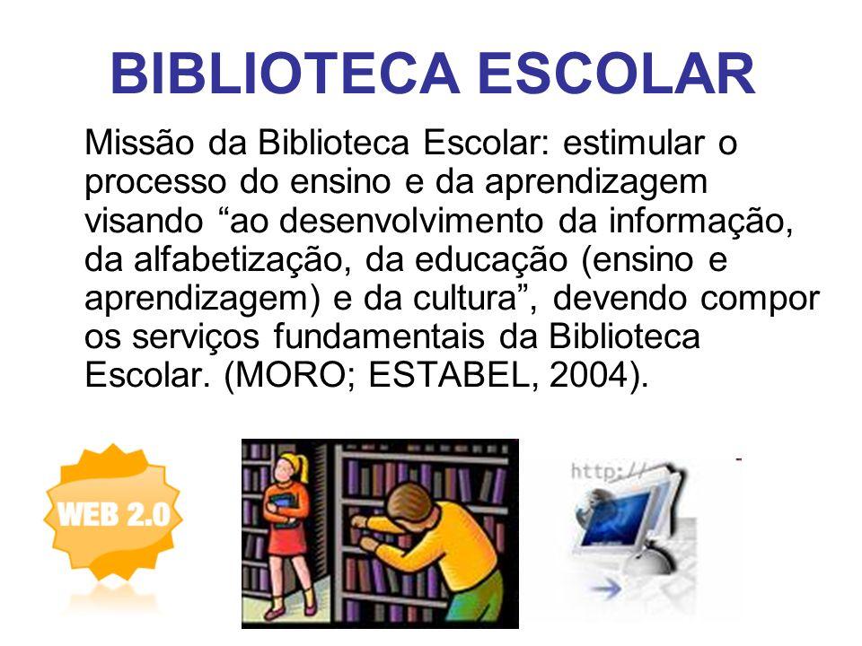 BIBLIOTECA ESCOLAR Ambiente democr á tico que valoriza a participa ç ão do aluno.