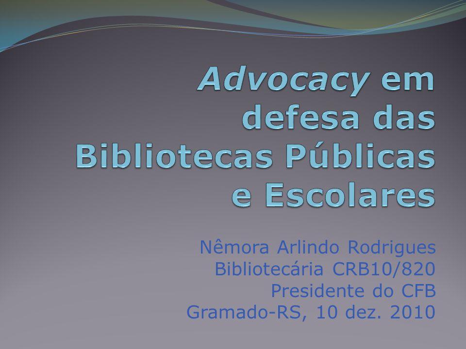 Referências ÁGERE.Cooperação em advocacy. Disponível em:.