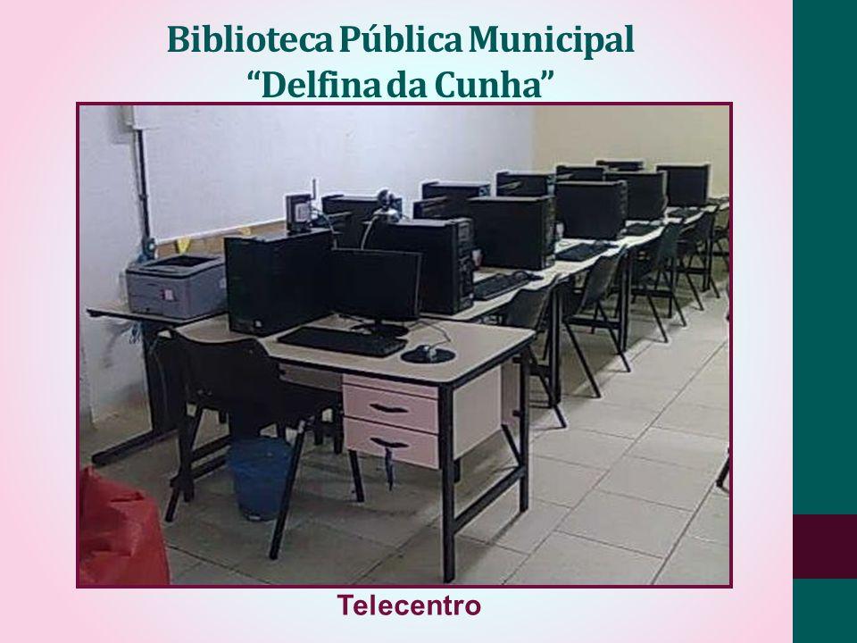 Biblioteca Pública Municipal Delfina da Cunha Telecentro
