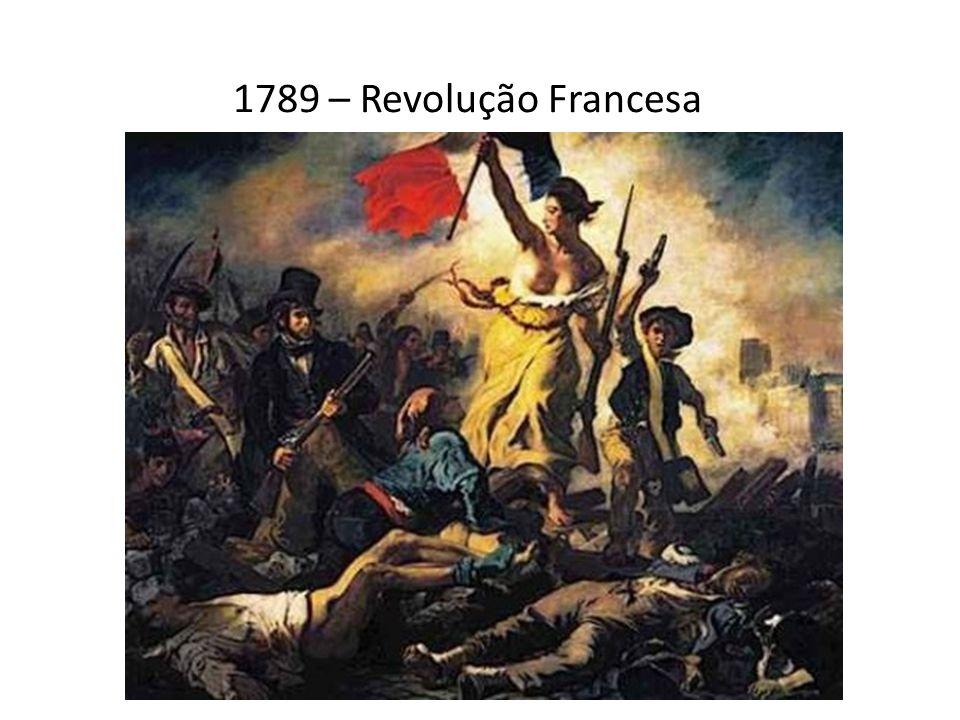 1789 – Revolução Francesa