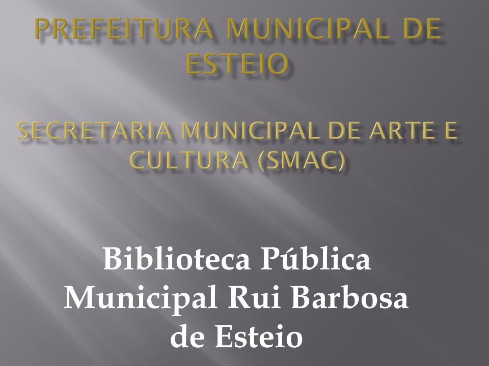 Mudança da Base de Dados atual (WinIsis para PHL) Planejamento para as novas instalações da Biblioteca Pública Municipal;