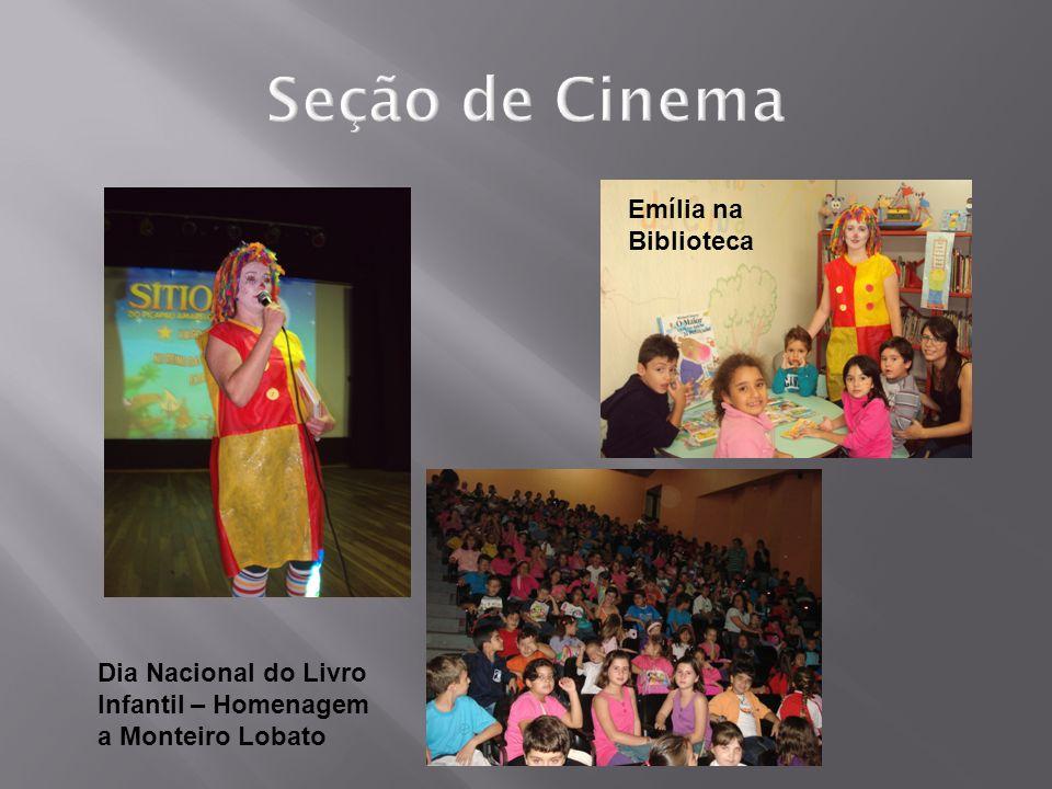 Dia Nacional do Livro Infantil – Homenagem a Monteiro Lobato Emília na Biblioteca