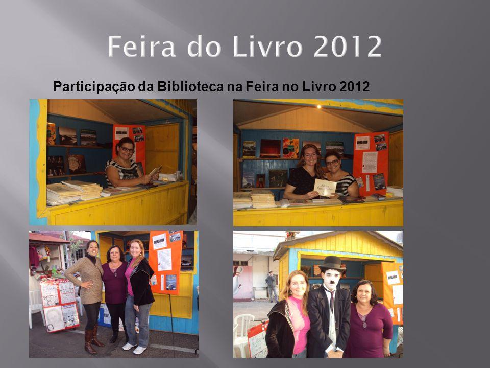 Participação da Biblioteca na Feira no Livro 2012