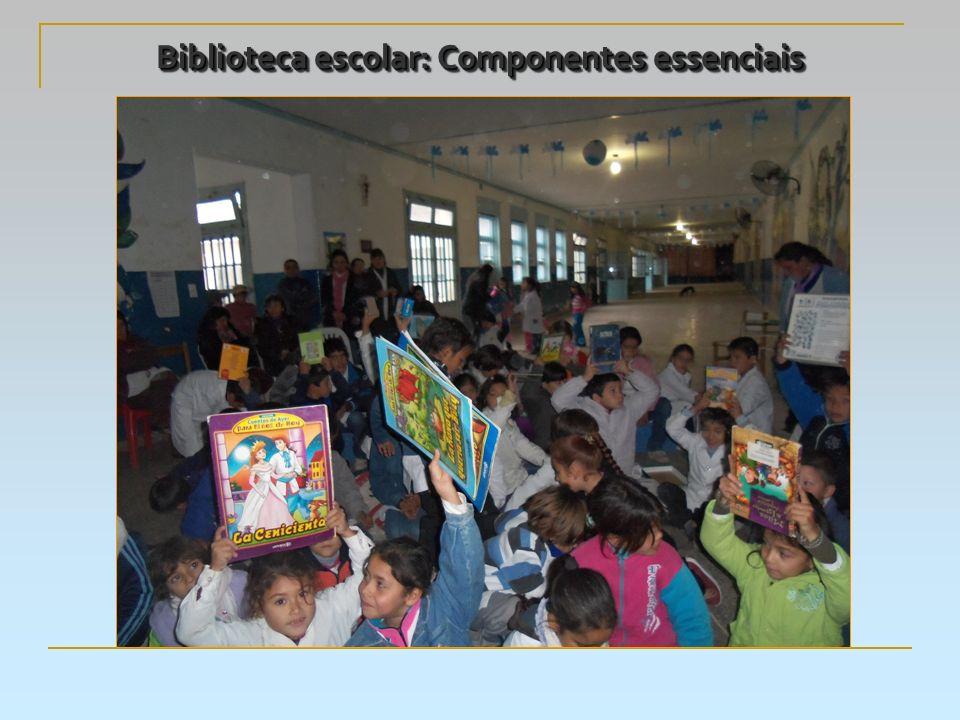 Biblioteca escolar: Componentes essenciais