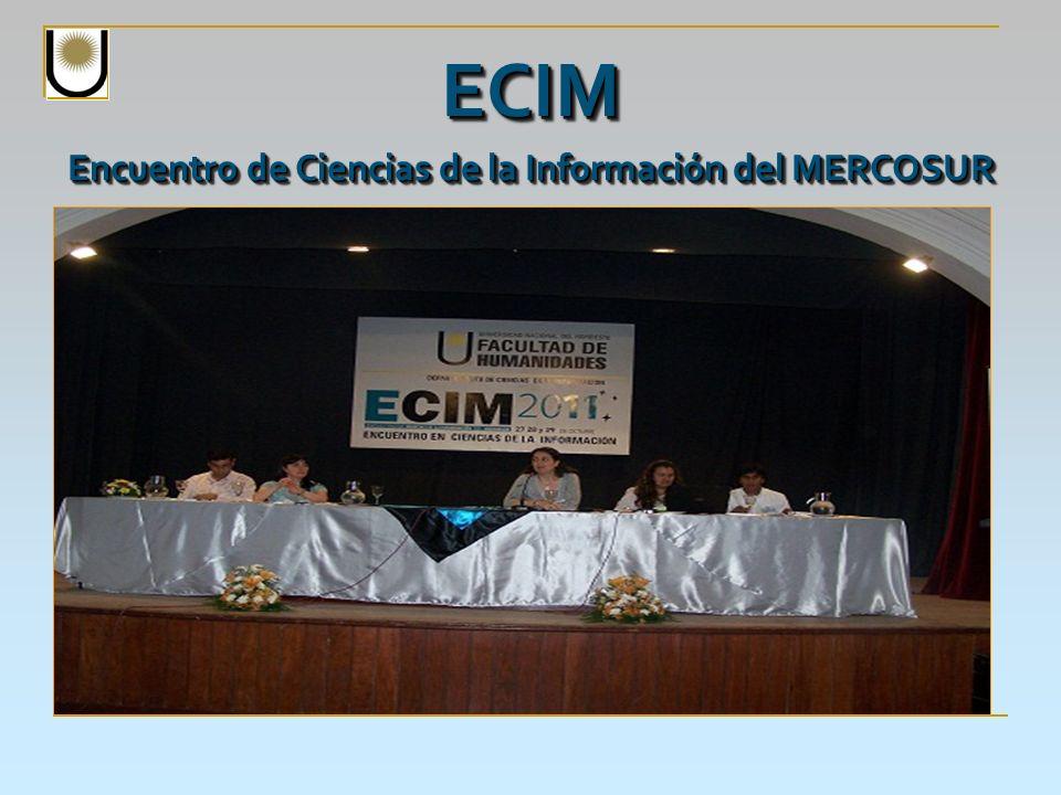 Objetivos: - Promover el acercamiento e intercambio de experiencias entre los actores involucrados con las Ciencias de la Información.