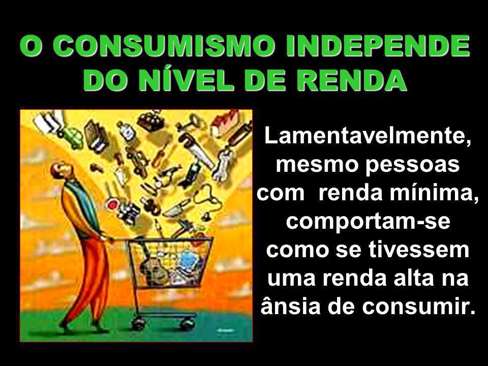 PAGANTES ALIENADOS O consumidor torna-se obediente à indústria do marketing.