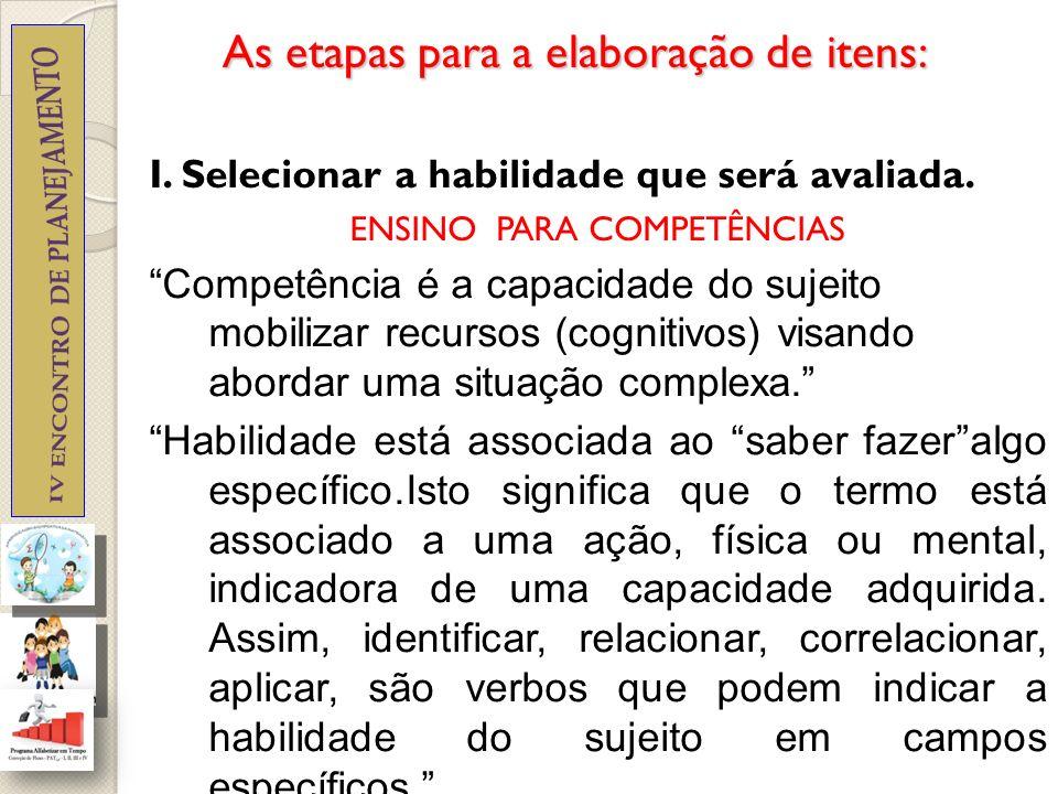 2.Definir a situação-problema a ser trabalhada no item e elaborar o texto-base.