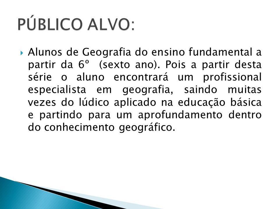 Que os alunos possam: -Discutir e se expressar sobre o tema geografia.