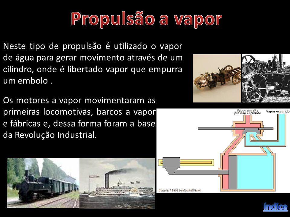Os motores a vapor movimentaram as primeiras locomotivas, barcos a vapor e fábricas e, dessa forma foram a base da Revolução Industrial. Neste tipo de