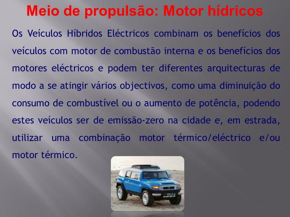 Os Veículos Híbridos Eléctricos combinam os benefícios dos veículos com motor de combustão interna e os benefícios dos motores eléctricos e podem ter