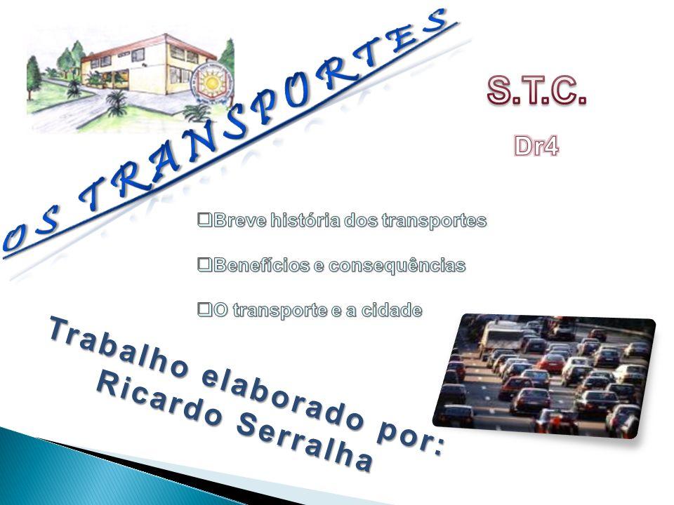 O transporte sempre foi uma das principais necessidades do Homem, quer para se transportar a si próprio, quer para deslocar mercadorias ou bens.