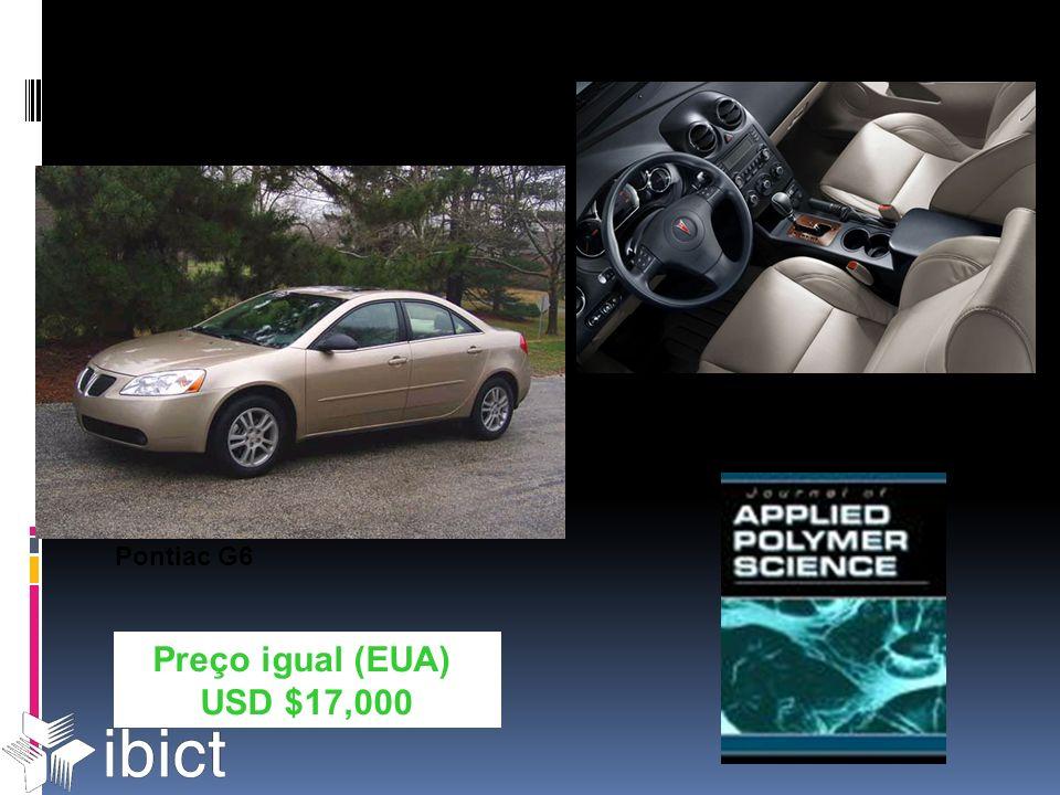 Preço igual (EUA) USD $17,000 Pontiac G6