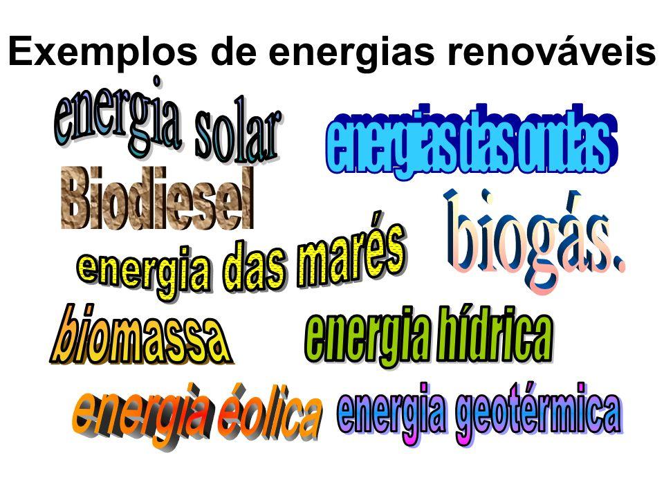 As centrais hidroeléctricas são a aplicação mais usada na transformação da energia contida na água aprisionada numa albufeira, em energia eléctrica
