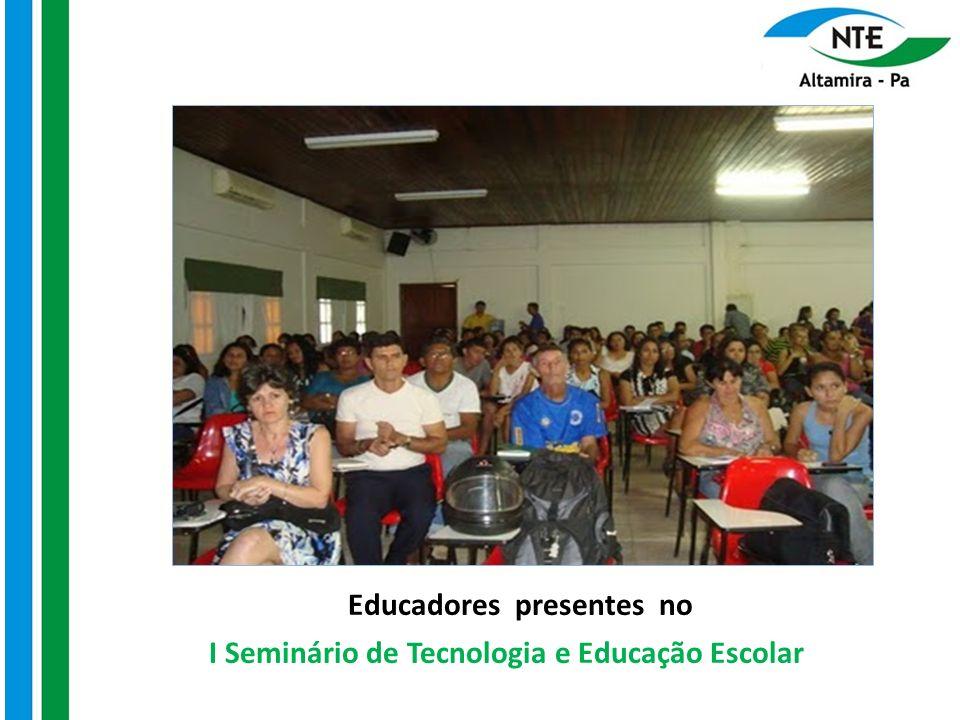 Palestras O Docente e a sociedade do conhecimento: necessidade de educação continuada – EaD A influência da Tecnologia no cotidiano Escolar e sua aplicabilidade na sala de aula