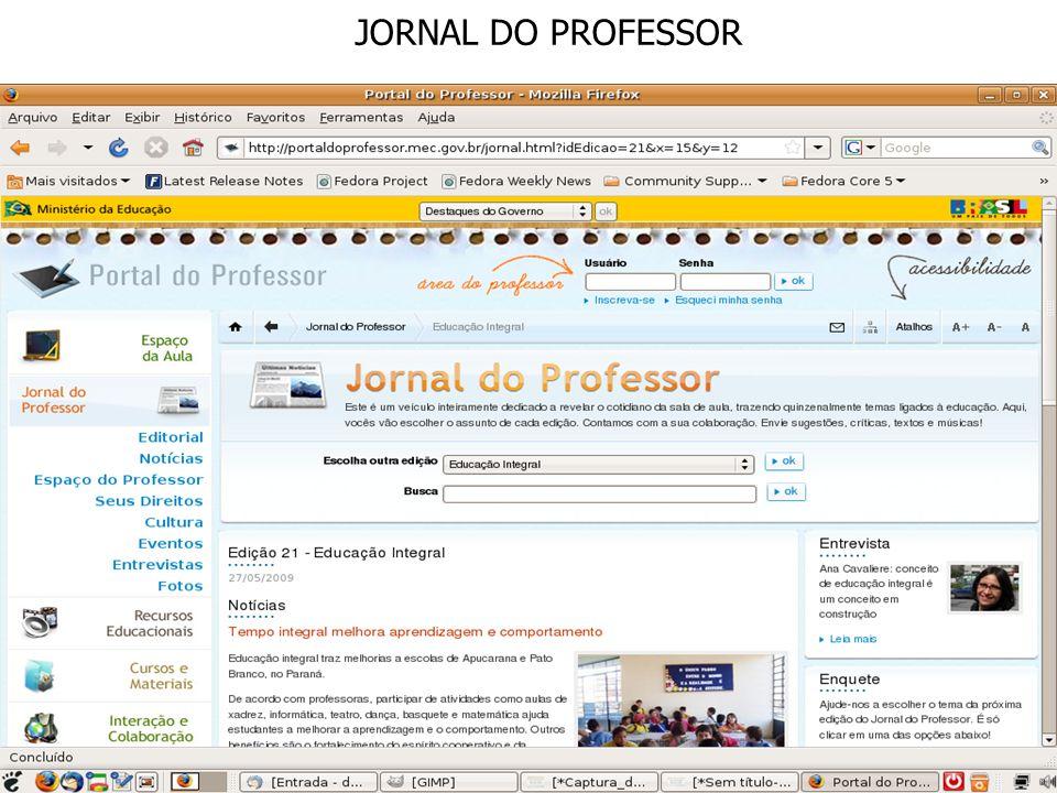 JORNAL DO PROFESSOR