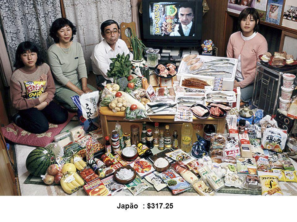 Japão : $317.25