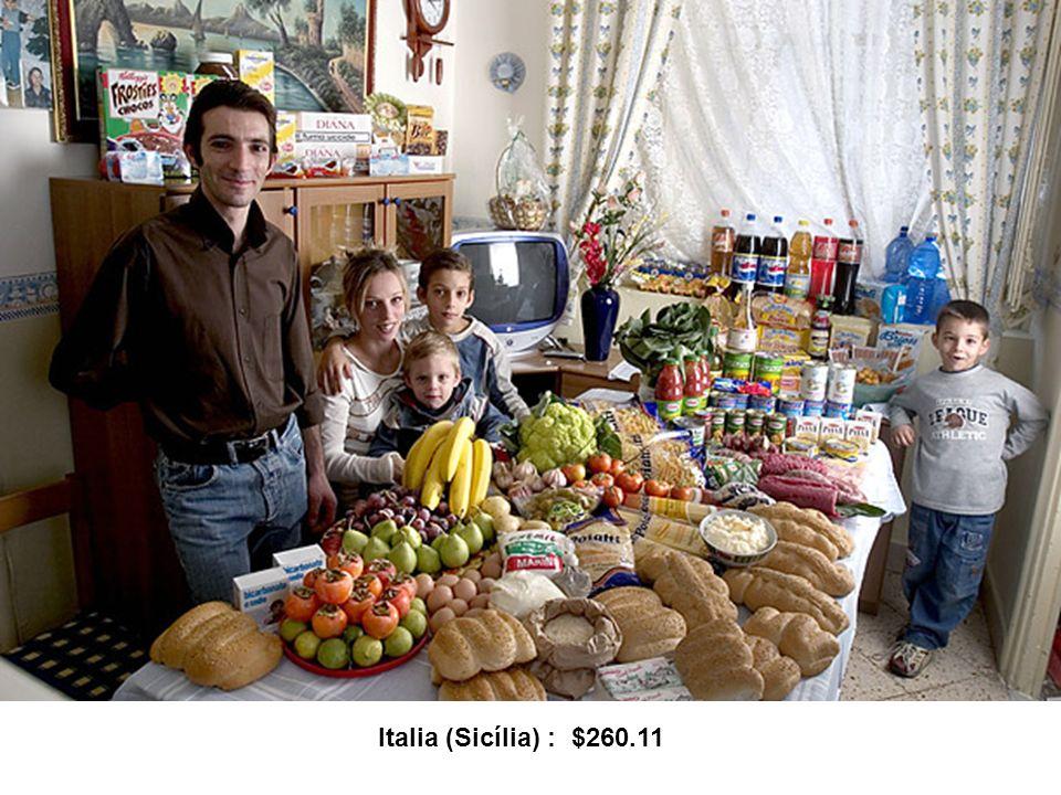 Uma família britânica : $253.15 / semana