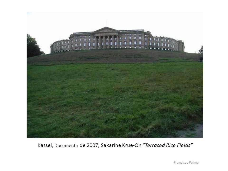 Em Kassel, na Documenta de 2007, o artista tailandês Sakarine Krue-On planta um arrozal junto ao Schools Wilhelmmshole (Sec.XVII) com o titulo Terraced Rice Fields, O primeiro arrozal a céu aberto.