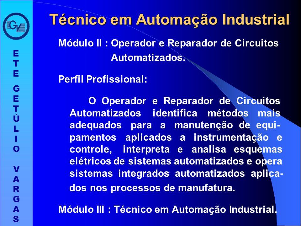Módulo I : Montador e Instalador de Sistemas Eletrônicos. Perfil Profissional: O Montador e Instalador de Sistemas Eletrônicos atua na área industrial