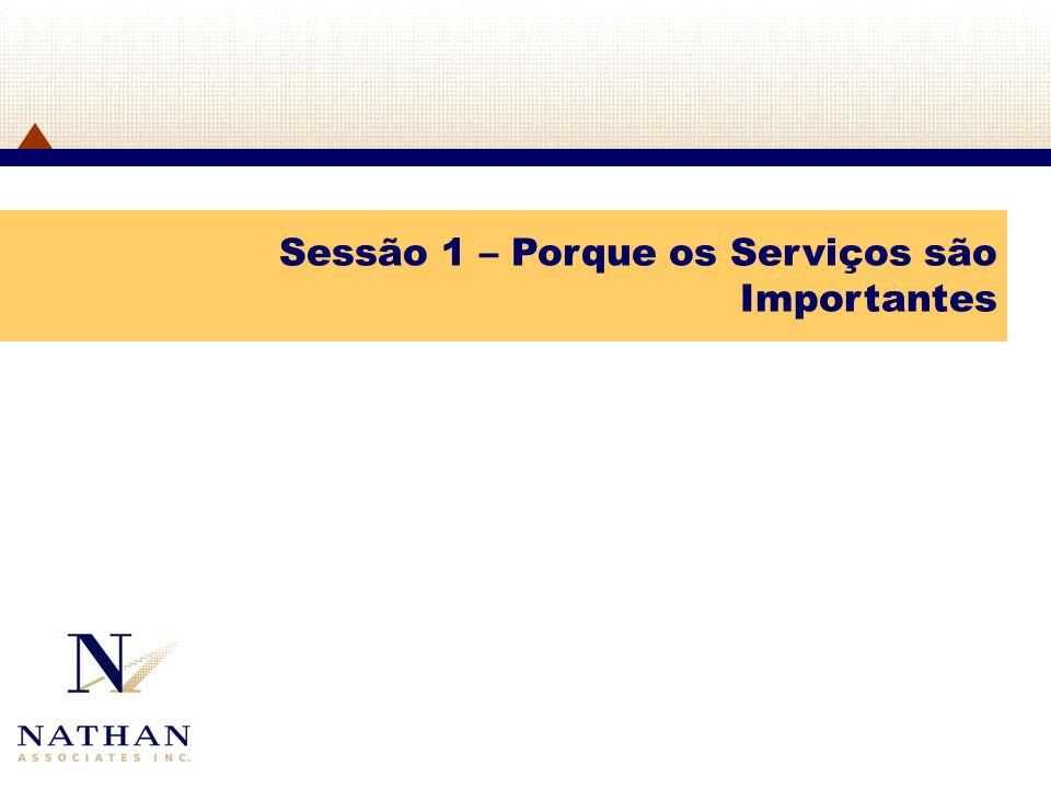 Sessão 10 – Participação do Sector Privado nas Negociações dos Serviços da OMC: Um Estudo de Caso dos Estados Unidos
