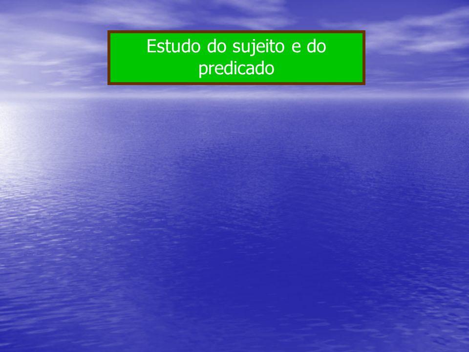 Ex: Você precisa aprender Português.Vamos estudar sintaxe.