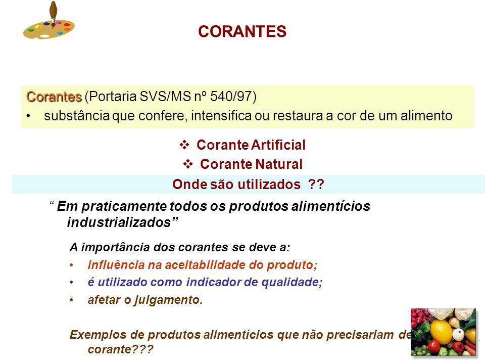 12 Critérios e exigências para permissão de uso de aditivos nos alimentos A segurança dos aditivos é primordial. Isto supõe que, antes de ser autoriza
