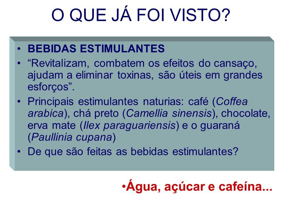A CAFEÍNA A cafeína é um alcalóide, um composto contendo nitrogênio, que apresenta propriedades básicas.