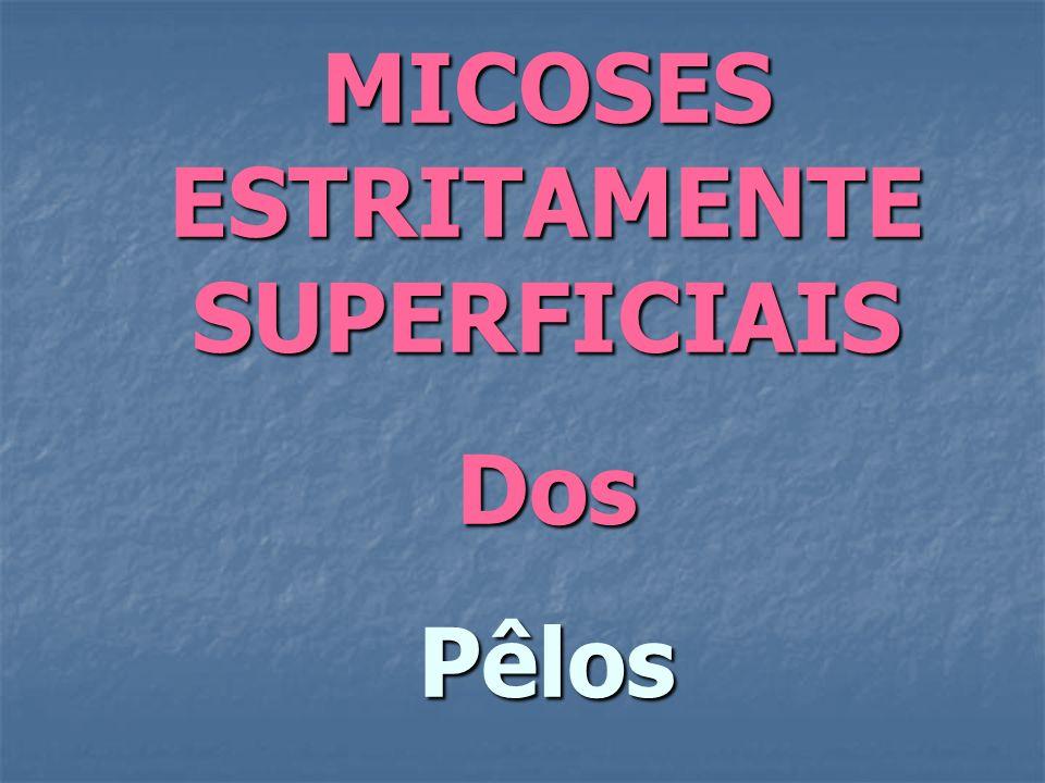 MICOSES ESTRITAMENTE SUPERFICIAIS DosPêlos