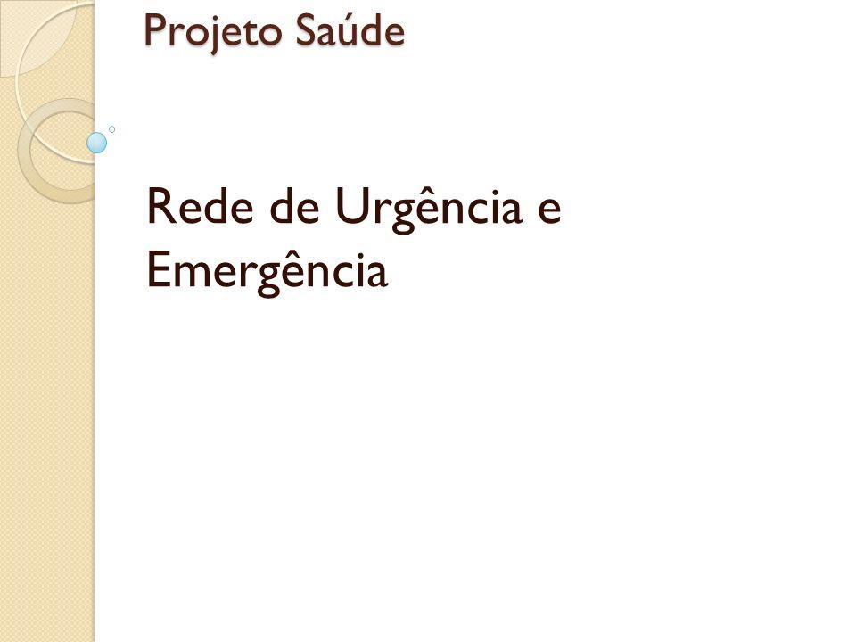 Projeto Saúde Rede de Urgência e Emergência
