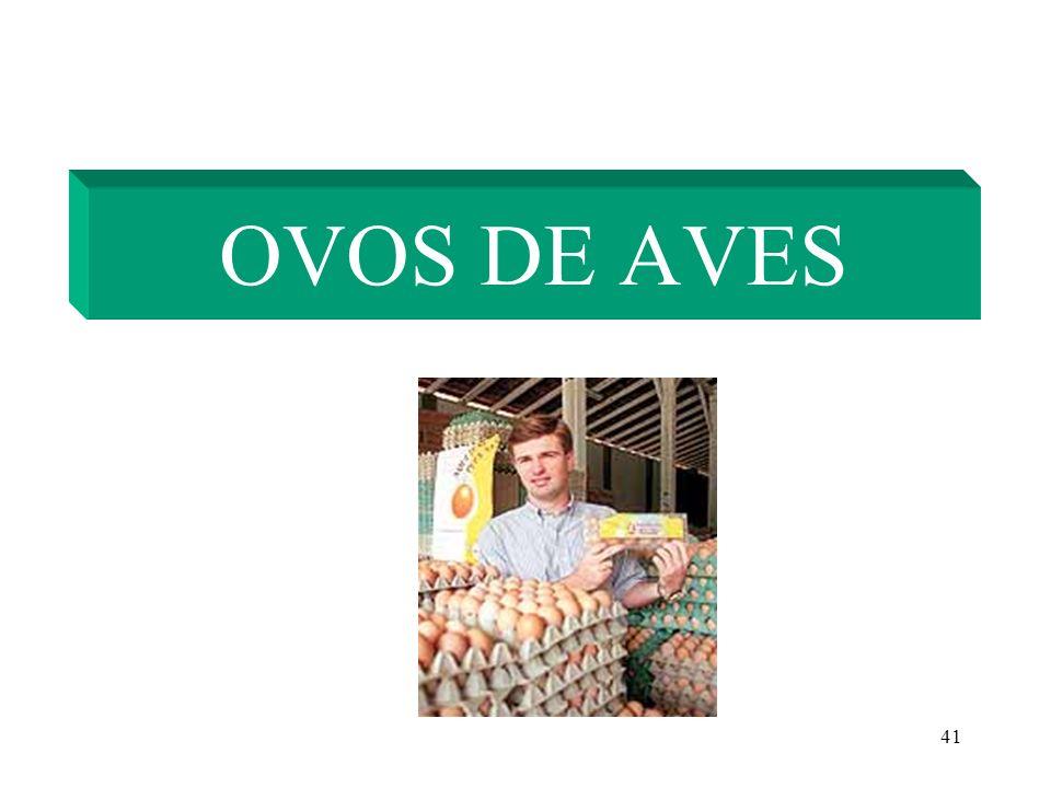 41 OVOS DE AVES
