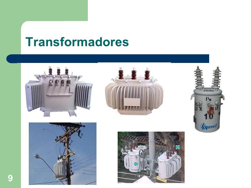 Disjuntor (PVO) Cobrem em média tensão, praticamente, toda a gama de capacidades de ruptura de 63kA.