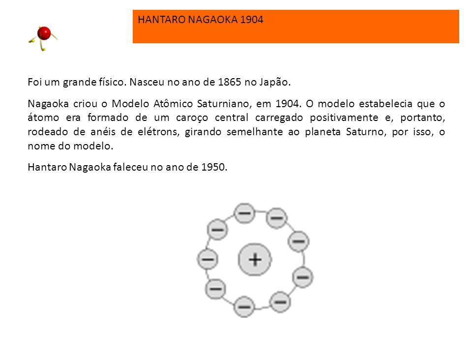 PHILIP LENARD 1903 Philip Lenard aperfeiçoou o modelo que descrevia a estrutura dos átomos. Como a matéria é ordinariamente eletricamente neutra (ning