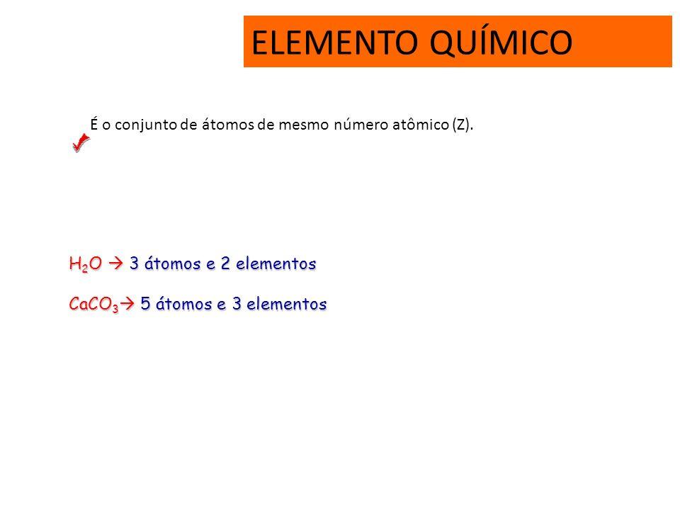 MASSA MOLECULAR É a massa total de uma molécula (u), obtida pela somatória da massa dos átomos constituintes. Ex: H 2 O= H 2 SO 4 = 18 u 98 u