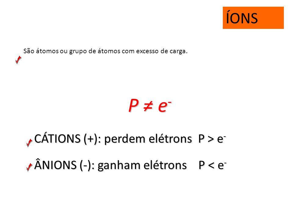 ELEMENTO QUÍMICO É o conjunto de átomos de mesmo número atômico (Z). H 2 O 3 átomos e 2 elementos CaCO 3 5 átomos e 3 elementos