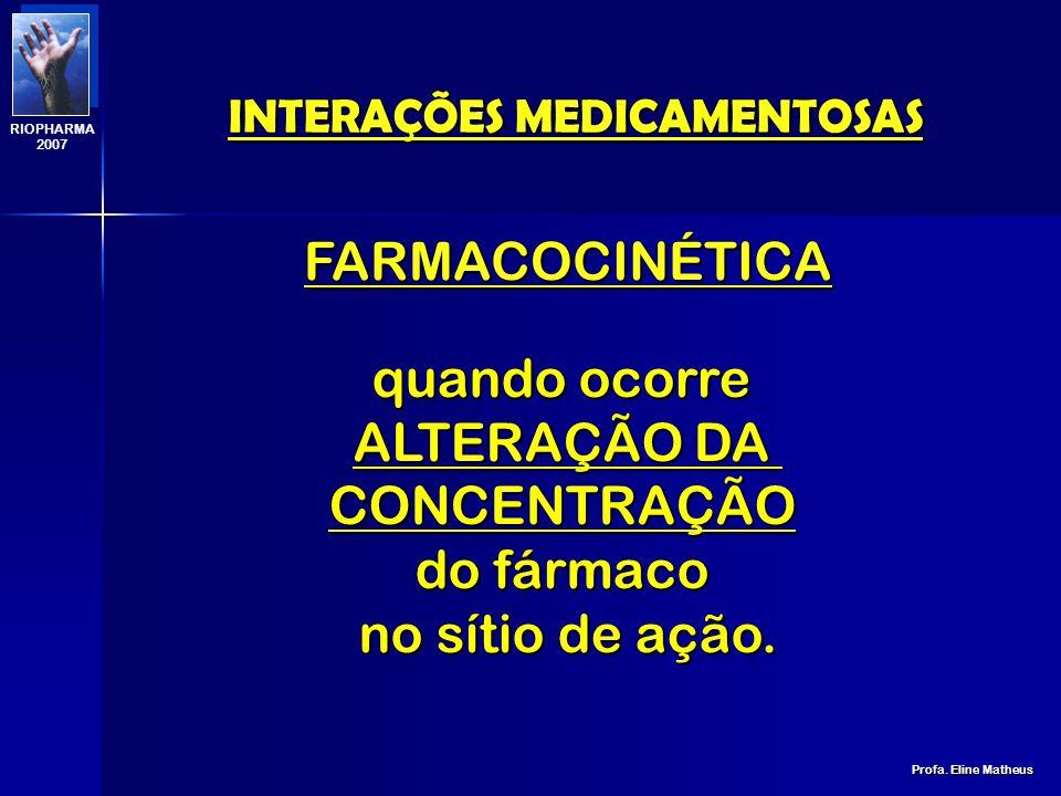 REAÇÕES DE OXI-REDUÇÃO: atropina + permanganato vitamina C + sulfato ferroso REAÇÕES DE PRECIPITAÇÃO: tetraciclina + cátions ADSORÇÃO: carvão ativado