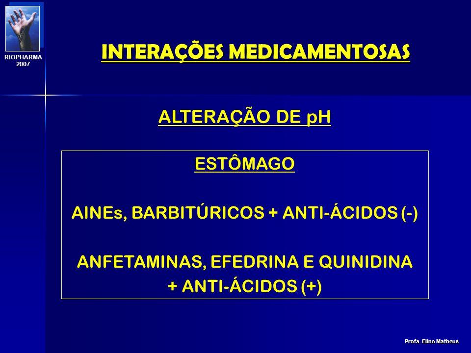 FORMAÇÃO DE SUBSTÂNCIAS INSOLÚVEIS FORMAÇÃO DE SUBSTÂNCIAS INSOLÚVEIS INTERAÇÕES MEDICAMENTOSAS Profa. Eline Matheus RIOPHARMA 2007 TETRACICLINA, ÁCID