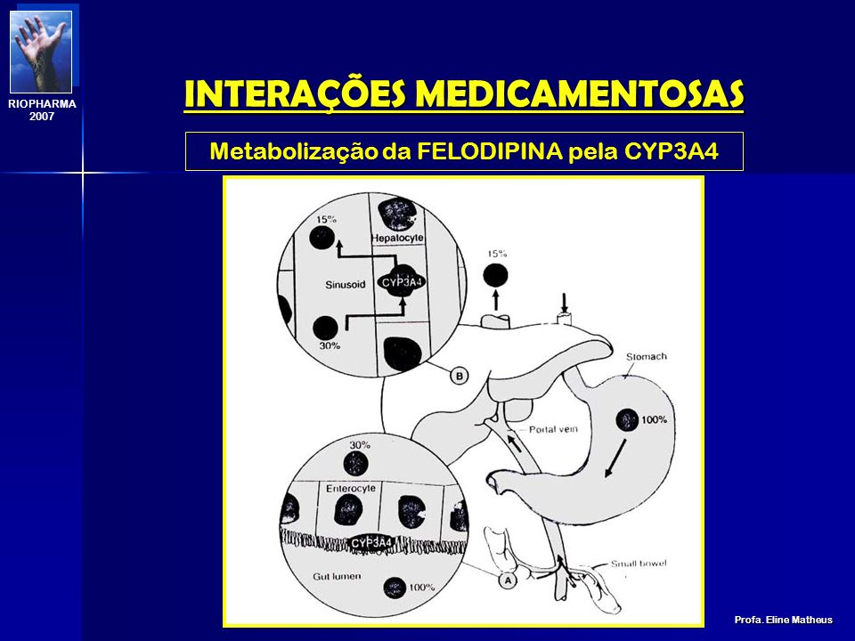 INTERAÇÕES MEDICAMENTOSAS Profa. Eline Matheus RIOPHARMA 2007 INIBIÇÃO ENZIMÁTICA ALLOPURINOL + MERCAPTOPURINA (IMUNOSSUPRESSOR) AÇÃO IMAO + ANFETAMIN