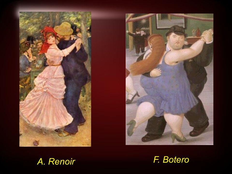 A. Renoir F. Botero