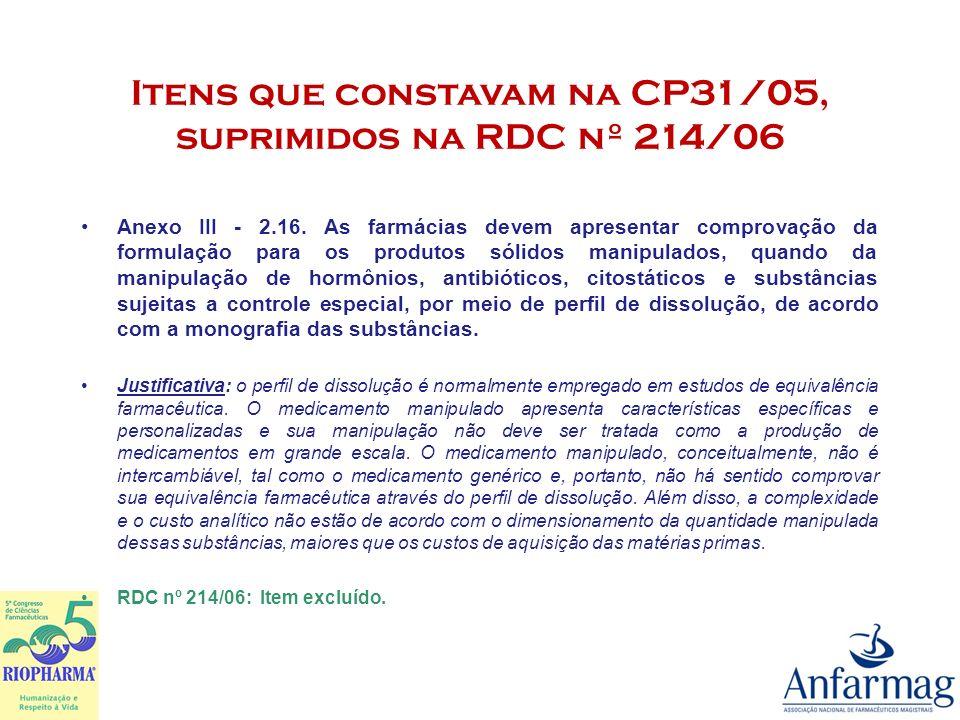 Respostas da ANVISA à Solicitações de Esclarecimentos da Anfarmag