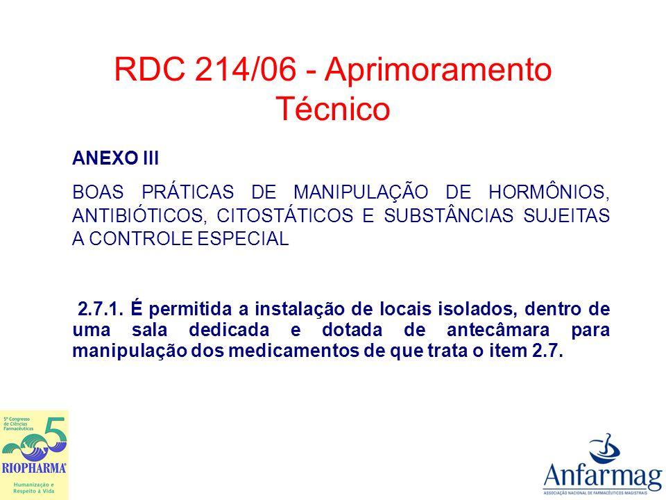 ANEXO VII ROTEIRO DE INSPEÇÃO PARA FARMÁCIA 2.CONDIÇÕES GERAIS 2.3.