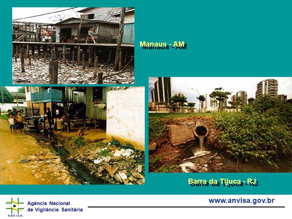 Agência Nacional de Vigilância Sanitária www.anvisa.gov.br Manaus - AM Barra da Tijuca - RJ