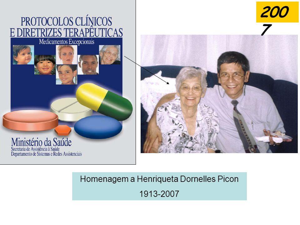 Homenagem a Henriqueta Dornelles Picon 1913-2007 200 7