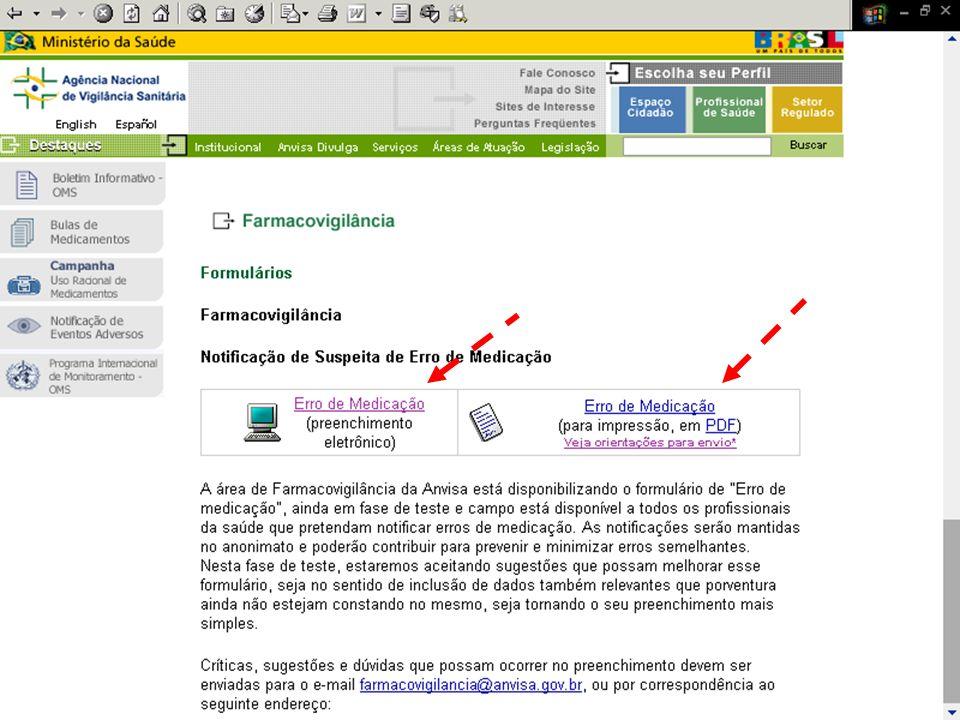 Murilo Freitas Dias Agência Nacional de Vigilância Sanitária GFARM / NUVIG