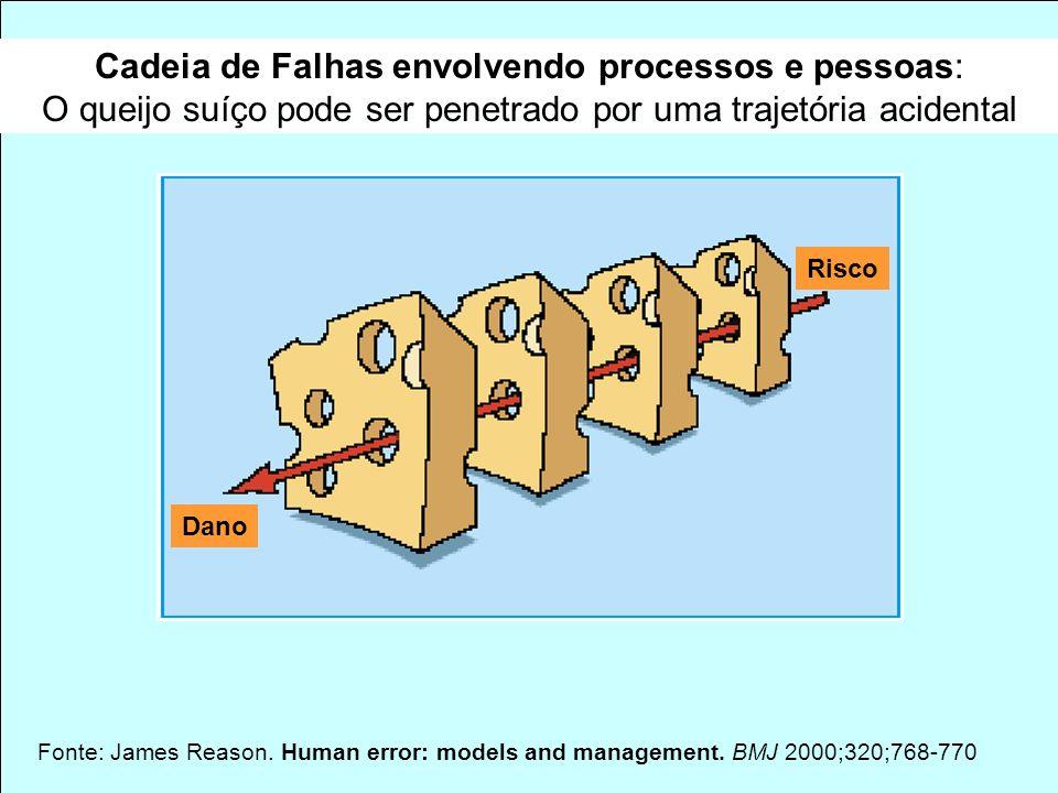 Murilo Freitas Dias Agência Nacional de Vigilância Sanitária GFARM / NUVIG Fonte: James Reason. Human error: models and management. BMJ 2000;320;768-7